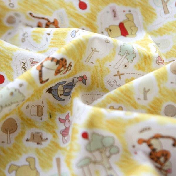 綿20数平織り - くまのプーさんテールブック