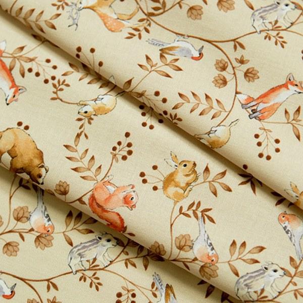 綿20数平織り - オン・ザ・ツリーベージュ