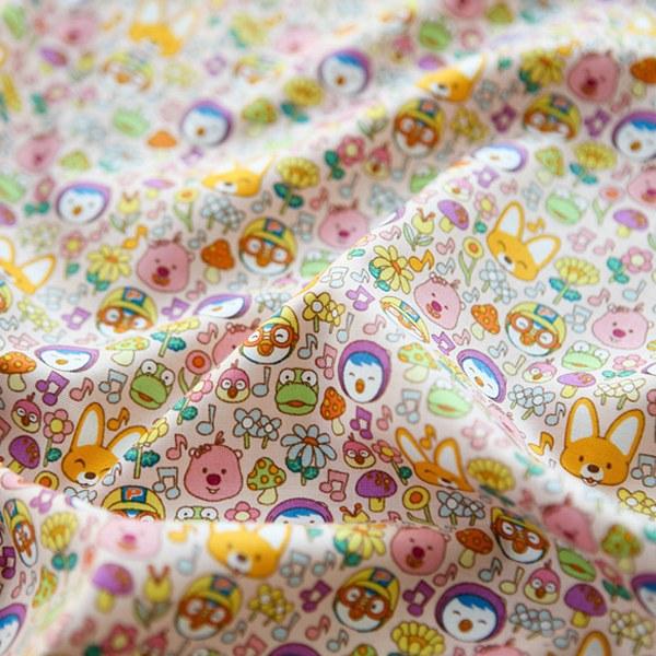 綿20数平織り - ルルララフラワー