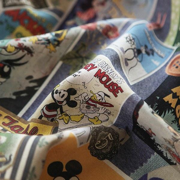 大幅11数リネン - ミッキーマウスビンテージのポスター