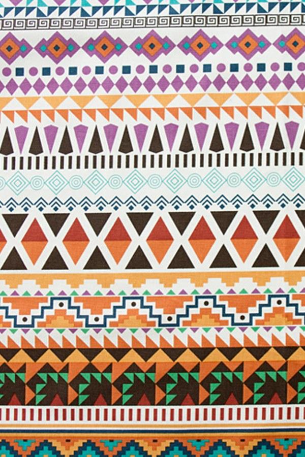 綿20数平織り - アステカマルチ
